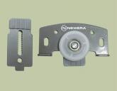 Phụ kiện cửa trượt lùa cánh lọt NewEra tải trọng 30kg/cánh