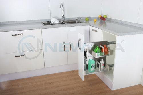 Phụ kiện giá đựng nước rửa chén inox 304