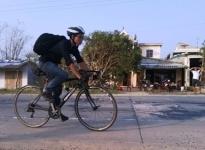 Đạp xe gần 600 km viếng Đại tướng