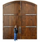 Cửa 2 cánh gỗ Óc Chó (Walnut) - Hoangphucwood