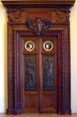 Cửa điêu khắc gỗ Óc Chó (Walnut) - Hoangphucwood