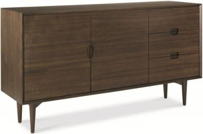 Bentley Designs Oslo Walnut Sideboard - Wide