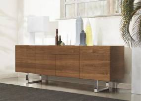 Calligaris Horizon Contemporary 4 Door and 1 Drawer Sideboard