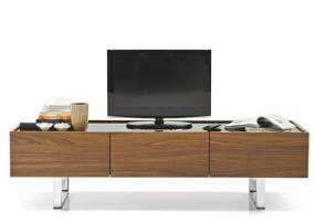Calligaris Horizon Contemporary 2 Drawer and 1 Door TV Unit
