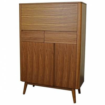 Murtaugh Bar Cabinet Walnut