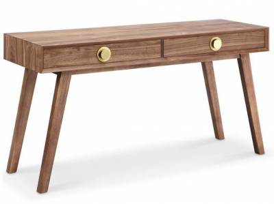 Victory Console Table Walnut