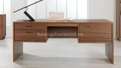 Bàn làm việc gỗ óc chó (walnut) - BLV W03 - Phú Nhuận, Tp HCM