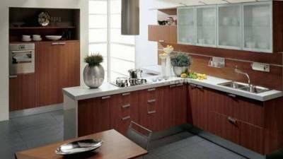 Mẫu kệ bếp, tủ bếp gỗ óc chó (walnut) WKC H02