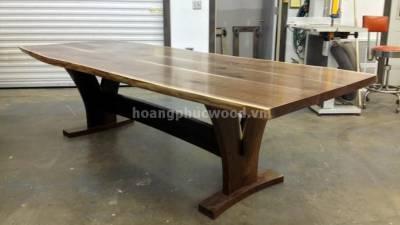Bàn ăn 10 ghế gỗ óc chó (walnut) – WDT H117 - Tp HCM, quận 9