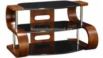 Kệ tivi gỗ óc chó (walnut) uốn cong hai đầu – TSW 123 – Tp HCM