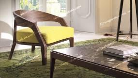 Ghế sofa gỗ óc chó (Walnut – Bắc Mỹ) - WSF08