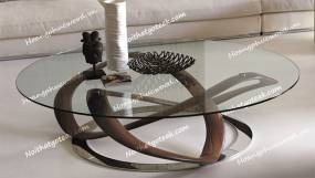 Bàn trà, bàn phòng khách gỗ óc chó (Walnut – Bắc Mỹ) TT H22