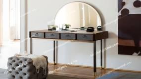 Bộ bàn trang điểm gỗ óc chó (Walnut – Bắc Mỹ) – WMT W04