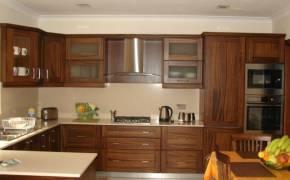 Mẫu Tủ bếp gỗ Óc Chó (Walnut) Bắc Mỹ - Hoangphucwood