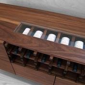 Tủ rượu gỗ Óc Chó (Walnut) Bắc Mỹ - Hoang Phuc Wood 09037255
