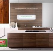Tủ bếp gỗ Walnut (Gỗ Óc Chó) - Hoangphucwood