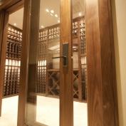 Cửa gỗ Óc chó (Walnut) - Tủ bếp gỗ Walnut - Hoangphucwood 09