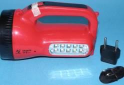 Đèn pin kém chất lượng gây bỏng và gây giật