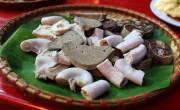 Các quán cháo lòng ngon ở Hà Nội - Lòng trần cháo là Chào trần Nóng
