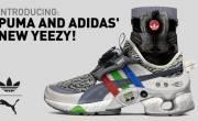 Tạm gác thù hận, adidas và PUMA bất ngờ ra mắt giầy thông minh Yeezy PAB1.0 siêu khủng