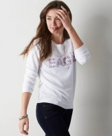 AEO Signature Sweatshirt White 1457-8204