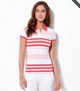 AE Short Sleeve Striped Polo 3658