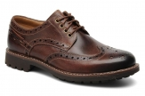 Clarks Montacute Wing - Dark Brown Leather 20351786