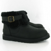 Ugg Australia Jocelin Fur Ankle Boots in Black 1003919 UGG