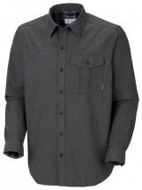 Columbia Men's Pintada Peak Solid Long Sleeve Shirt Dark Gray AM1064 Columbia