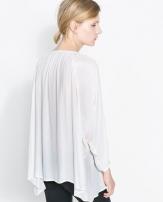 Zara Tie Neck Blouse 2157/229 Zara - Sơ mi Nữ Zara VNXK