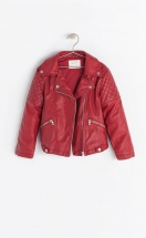 Zara Girl Faux Leather Jacket 5992/602 Zara