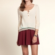 Hollister-Girls-Bolsa-Chica-Drapey-Knit-Henley-82718-Hollister
