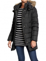 Old Navy Women's Hooded Long Quilted Coats 120257 Old Navy