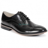 Clarks Gatley Limit in Black Leather 26103024 Clarks