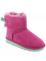 UGG® Australia Youth Mini Bailey Bow Boots in Victorian Pink 1005497T UGG