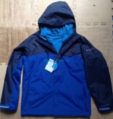 Columbia Boy's Bright Snow Interchange Jacket 3in1 XB7010 Columbia