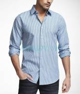 Express Striped Extra Slim Fit Cotton Shirt - Sơ mi Express vnxk