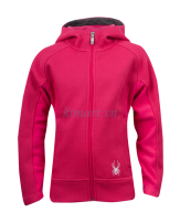 Spyder Girl's Ardent Full Zip Hoody - Girls' Girls (Sizes 8–20) Core Sweater - Áo Spyder VNXK