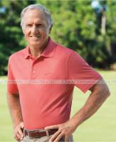 Greg Norman Tasso Elba Men's Diamond Jacquard Performance Golf Polo Greg Norman ao danh golf vnxk