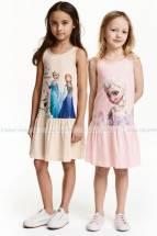 HM 2 Pack Printed Jersey Dresses 0341183 HM vay tre em HM authentics