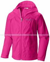 Columbia Girls' Switchback Rain Jacket Haute Pink 1580591 Columbia ao gio columbia vnxk