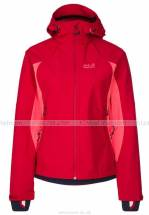Jack Wolfskin Sports Women's Nucleon SoftShell Jacket Indian Red ao truot tuyet jack wolfskin