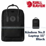 Fjallraven Kånken No.2 Laptop 15 Black F23568 Fjallraven ba lô kanken hà nội vnxk