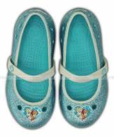Crocs Girls' Keeley Frozen Flat 200919 Crocs giầy công chúa Crocs hàng ship US - Giầy Crocs xịn