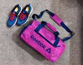 Reebok Training Duffle Bag Found S Grip BP7079 Reebok Túi trống Reebok Túi trống thể thao tập Gym