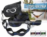 Live Infinitely Hammock Hanging Tree Straps Live Infinitely Dây mắc võng nhanh Camping Outdoor
