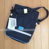 Kumon Bag 2 Way Navy Kumon túi đeo chéo Kumon Túi A4 Túi học Sinh Túi đeo chéo Du lịch xuất Nhật