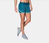 Under Armour Women's UA Lauch Tulip 2 in 1 Shorts 1299983 Under Armour Quần Training Quần Running