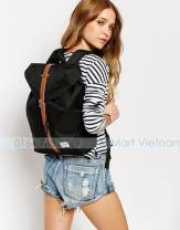 Herschel The Post Mid Volume Backpack Herschel Ba lô Sinh viên Ba lô Laptop Ba lô Made in Vietnam