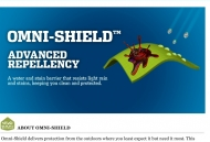 Omni-Shield Water and Stain Repellent Technology